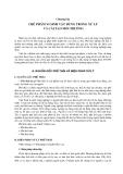 Giáo trình công  nghệ vi sinh vật trong sản xuất nông nghiệp và xử lý ô nhiễm môi trường - Chương 7