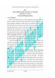 Giáo trình thực hành vi sinh ứng dụng và công nghệ lên men - Bài 6