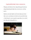 Càng làm nhiều bài tập về nhà, trẻ càng học kém