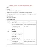 Giáo án lớp 4: CHÍNH TẢ: MƯỜI NĂM CÕNG BẠN ĐI HỌC