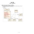 Một số bài tập về Design Patterns