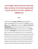 G. W. G. Hegel - HIỆN TƯỢNG HỌC TINH THẦN [Phần 5]: SỰ ĐỘC LẬP-TỰ CHỦ_1