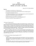 Xác định được sản lượng hòa vốn, doanh thu hòa vốn - Th.S. Hồ Phan Minh Đức