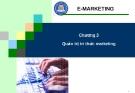 Marketing Thương Mại Điện Tử - Chương 3 Quản trị tri thức marketing