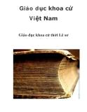 Giáo dục khoa cử Việt Nam Giáo dục khoa cử thời Lê sơ