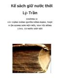 Kế sách giữ nước thời Lý-Trần_1