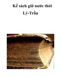Kế sách giữ nước thời Lý-Trần  _25