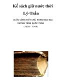 Kế sách giữ nước thời Lý-Trần _27