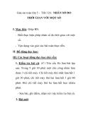 Giáo án toán lớp 5 - Tiết 126: NHÂN SỐ ĐO THỜI GIAN VỚI MỘT SỐ