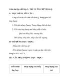 Giáo án tập viết lớp 3 - Tiết 23: ÔN CHỮ HOA Q