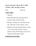 Giáo án toán lớp 5 - Bài 24 :ĐỀ CA MÉT VUÔNG – HÉC TÔ MÉT VUÔNG