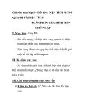 Giáo án toán lớp 5 - Tiết 105: DIỆN TÍCH XUNG QUANH VÀ DIỆN TÍCH TOÀN PHẦN CỦA HÌNH HỘP CHỮ NHẬT