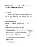 Giáo án toán lớp 5 -  Tiết 102: LUYỆN TẬP  VỀ TÍNH DIỆN TÍCH (tiếp theo)