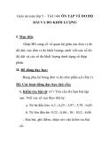 Giáo án toán lớp 5 - Tiết 144: ÔN TẬP VỀ ĐO ĐỘ DÀI VÀ ĐO KHỐI LƯỢNG