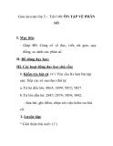Giáo án toán lớp 5 - Tiết 140: ÔN TẬP VỀ PHÂN SỐ