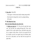 Giáo án toán lớp 5 -  Tiết 138: LUYỆN TẬP CHUNG