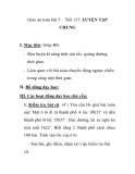 Giáo án toán lớp 5 - Tiết 137: LUYỆN TẬP CHUNG