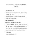 Giáo án toán lớp 5 - Tiết 136: LUYỆN TẬP CHUNG
