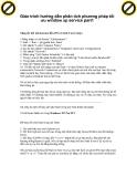 Giáo trình hướng dẫn phân tích phương pháp tối ưu window xp service part1 p1