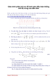 Giáo trình phân tích sơ đồ tính toán điều kiện khống chế độ cứng của dầm đơn p1