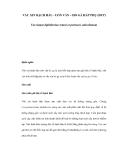 VẮC XIN BẠCH HẦU - UỐN VÁN – HO GÀ HẤP PHỤ (DTP)