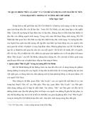 """VỀ QUAN ĐIỂM """"ĐỨC LÀ GỐC"""" VÀ VẤN ĐỀ XÂY DỰNG CON NGƯỜI TỪ NỀN TẢNG ĐẠO ĐỨC TRONG TƯ TƯỞNG HỒ CHÍ MINH"""
