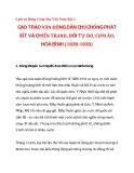 CAO TRÀO VẬN ĐỘNG DÂN CHỦ,CHỐNG PHÁT XÍT VÀ CHIẾN TRANH, ĐÒI TỰ DO, CƠM ÁO, HOÀ BÌNH (1936-1939)_1