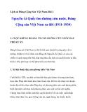 Lịch sử ĐCS Việt Nam-Bài 1: Nguyễn Ái Quốc tìm đường cứu nước, Đảng Cộng sản Việt Nam ra đời (1911-1930)_1