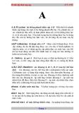 Từ điển kỹ thuật máy bay