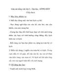Giáo án tiếng việt lớp 5 - Tập đọc : LÒNG DÂN (Tiếp theo)