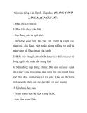 Giáo án tiếng việt lớp 5 - Tập đọc: QUANG CẢNH LÀNG MẠC NGÀY MÙA