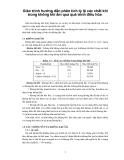 Giáo trình hướng dẫn phân tích tỷ lệ các chất khí trong không khí ẩm qua quá trình điều hòa p1