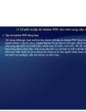 Tự học Indesign CS2 : Tạo tập tin  ADOBE PDF  part 2