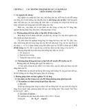Giáo trình thí nghiệm công trình - Chương 2