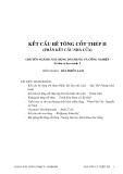 KẾT CẤU BÊ TÔNG CỐT THÉP II - CHƯƠNG 1