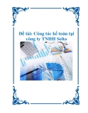 Đề tài: công tác kế toán tại công ty TNHH Selta