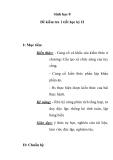 Sinh học 8 Đề kiểm tra 1 tiết học kỳ II