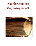 Nguyễn Công Trứ Ông hoàng hát nói _2