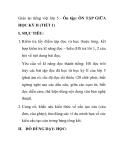 Giáo án tiếng việt lớp 5 - Ôn tập: ÔN TẬP GIỮA HỌC KỲ II (TIẾT 1)