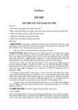 Bài giảng nội khoa : HÔ HẤP part 1