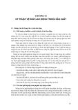 Kỹ thuật vệ sinh, an toàn lao động và phòng chữa cháy - Chương 2