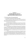 Kỹ thuật vệ sinh, an toàn lao động và phòng chữa cháy - Chương 7