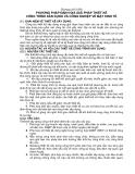 Giáo trình môn kinh tế xây dựng - Chương 5