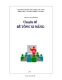 Bê tông xi măng - Chương 1