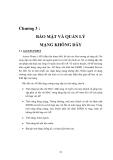 Mạng không dây - Chương 3