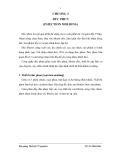 Thiết bị công nghệ polymer - Chương 3