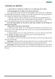 Giáo trình thủy nông - Chương 1
