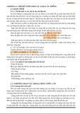 Giáo trình thủy nông - Chương 2