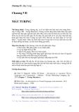 Tin học lý thuyết - Chương 7