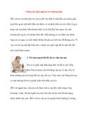 Chăm sóc giấc ngủ trẻ sơ sinh tại nhà